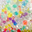 Colored balls background — Stock Photo