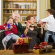 Grandparents and presents — Stock Photo #1414708