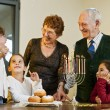 Hanukkah celebration — Stock Photo #1414836