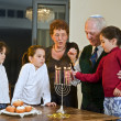 Hanukkah celebration — Stock fotografie