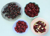 Cranberries secas — Foto Stock