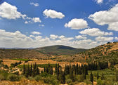 Galilee landscape — Stock Photo