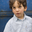 Portrait of a young boy — Stockfoto