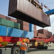 Container uploading — Stock Photo #2219505