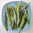 Speckled fresh beans - Stock Photo