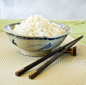 Bowls of rice — Stock Photo