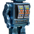 Stock Photo: Toy robot