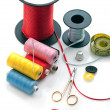 Stock Photo: Sewing stuff