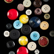 Stock Photo: Plastic buttons
