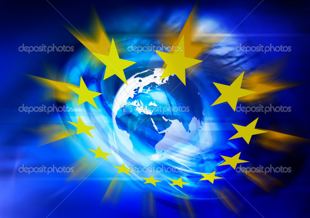 Symbolic illustration of European Union — Stock Photo #2045964