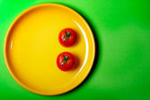 Happy tomatoes — Stock Photo