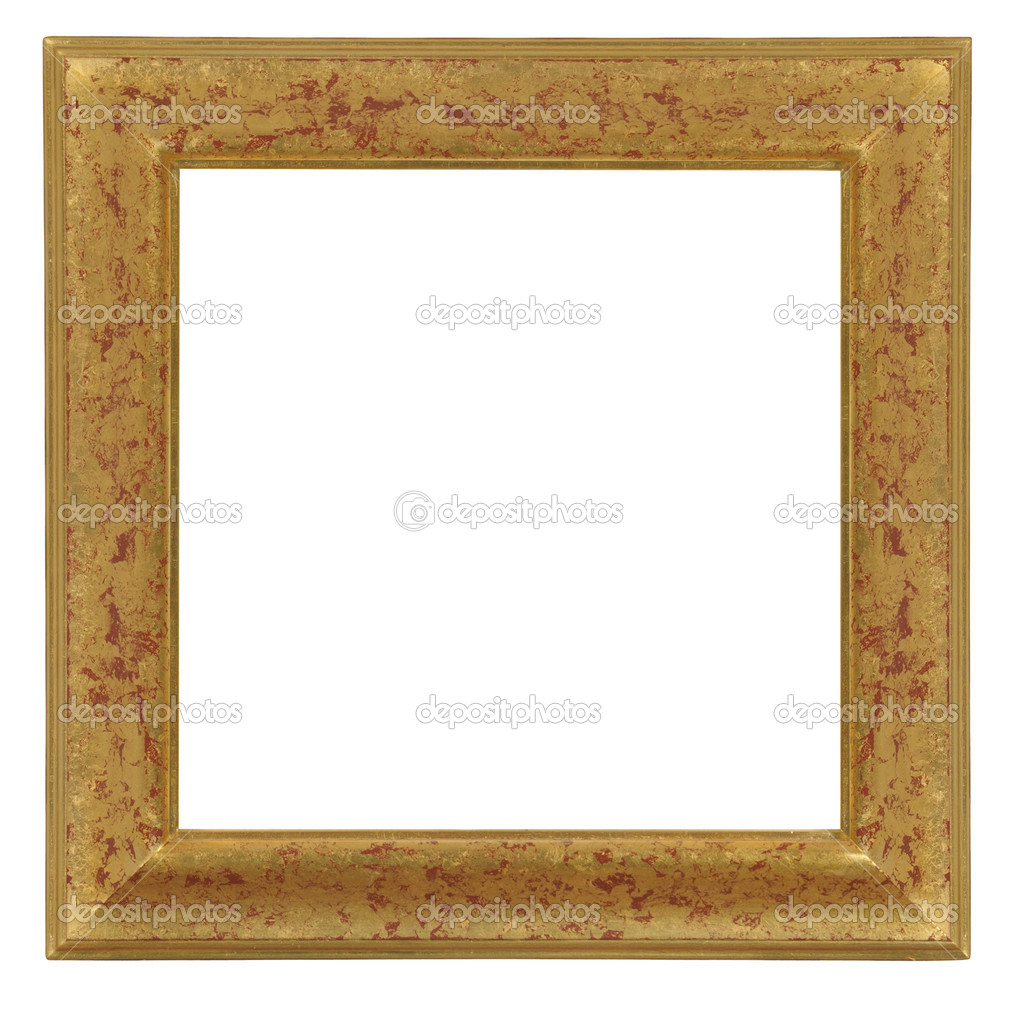 Isolated decorative frame with clipping path — Stock Photo #1341399