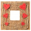 Stock Photo: Love Symbol Picture Frame