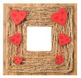Love Symbol Picture Frame — Stock Photo