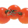 Three Five Red Tomatoes — Stock Photo #2142250