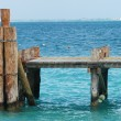 Wood pier - Mexico — Stock Photo #1337224
