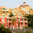 Vacation hotel on Tenerife Island - Stock Photo