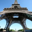 Stock Photo: Eifell tower in Paris, France