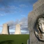Nuclear power plant Dukovany — Stock Photo