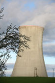 Nuclear power plant Dukovany — Stock Photo
