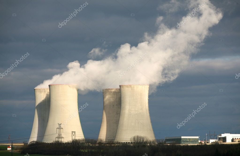 Nuclear power plant Dukovany, Czech republic — Stock Photo #1867324