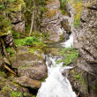 Stock Photo: Waterfall is in Ural mountains 2