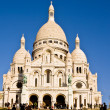 Basilique du Sacre Coeur de Montmartre - Stock Photo