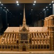Royalty-Free Stock Photo: Model of a cathedral Notre-Dame