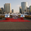 Business area of  Paris.La Defense - Stock Photo