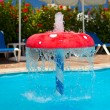Stock Photo: Fountain in children pool 1