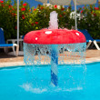 Fountain in children pool 1 — Stock Photo