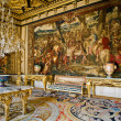Interior in the castle Fontainebleau — Stock Photo