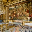 Interior in the castle Fontainebleau - Stock Photo