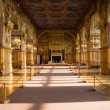 Interior in the castle Fontainebleau 3 — Stock Photo