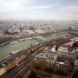 Kind to Paris from Eiffel Tower 1 — Stockfoto