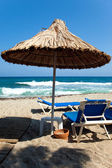 Beach umbrella — Stockfoto