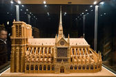 Model of a cathedral Notre-Dame 2 — Стоковое фото