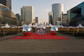 Business area of Paris.La Defense — Stock Photo
