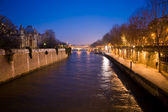 Evening Paris 2 — Stockfoto