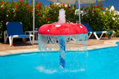 Fountain in children pool 1 — Stockfoto