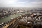 Kind to Paris from Eiffel Tower 1 — Stock Photo