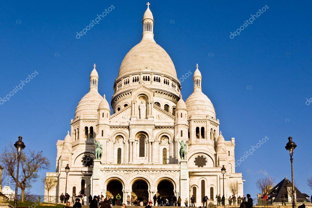 Basilique du Sacre Coeur de Montmartre — Stock Photo ...