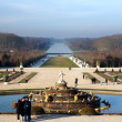 Stock Photo: Park in Versailles