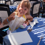 The girl eats ice-cream 2 — Stock Photo #1369176