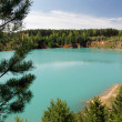 Turquoise lake 2 — Stock Photo #1369314