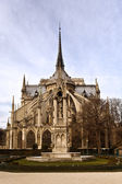 La photo est faite dans un vacances de noël à paris — Photo
