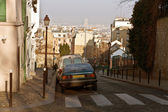 Streets of Paris. Montmartre — Stock Photo