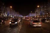 The Champs Elysee — Stock Photo
