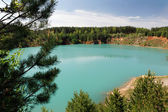 Lago turquesa 2 — Fotografia Stock