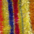 Royalty-Free Stock Photo: New year multi-coloured tinsel